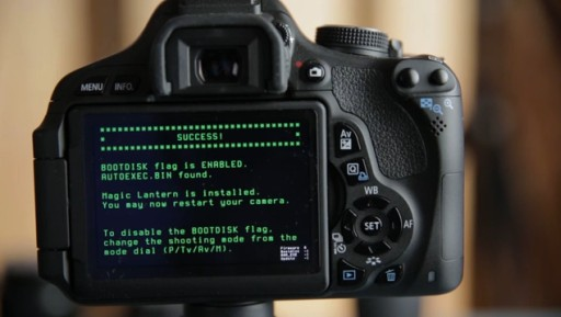 How To Install The Magic Lantern General Availability Release