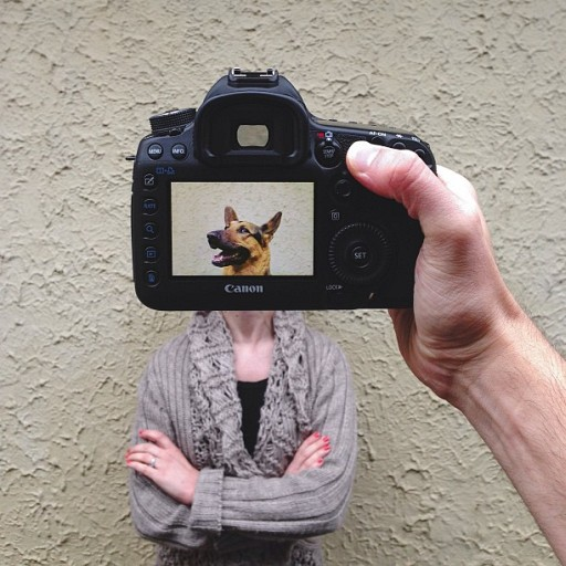 Photographs Of Pets And Their Owners Mashed Up