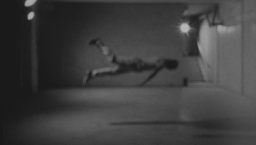 Bullettime Effect Created Using 625 Pinhole Cameras