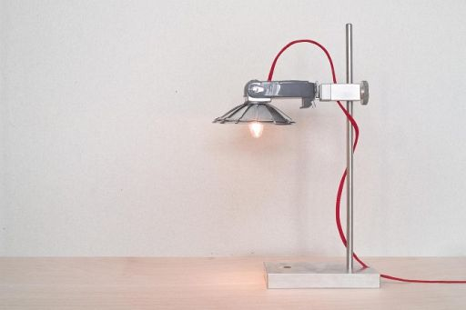 Old Cameras And Strobes Reborn As Beautiful Lighting Fixtures