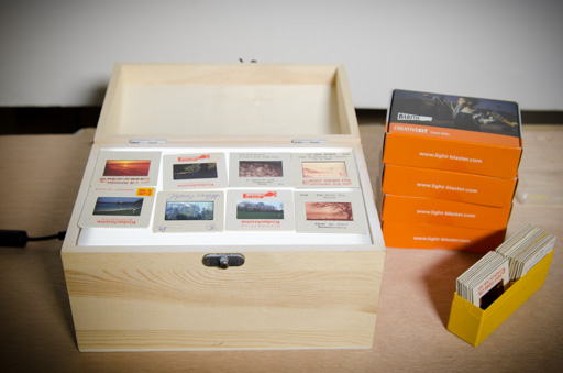 How To Build A Light Table (Or Inspecting 50,000 Film Slides)