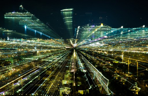 Jakob Wagner Creates Futuristic Cities By Pulling Zoom