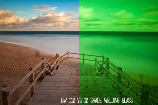 How To Correct The Green Cast From A 10 Stops Neutral Density Welding Glass Filter