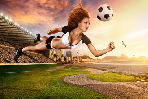2014 World Cup Calendar Is an Amazing Work Of Lighting, Photography & Compositing