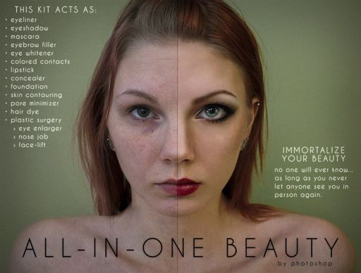 Fake Ads Mock-Ups Reveal Sad Truth About Photoshop in Advertising