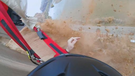 Gopro Captures Base-Juper Hitting Rock, Turns Capture Into An Epic Slo-Mo Footage