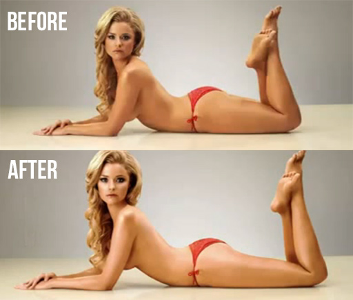 "Movie Shows Photoshop ""Body Retouching"" Taken To Extreme"