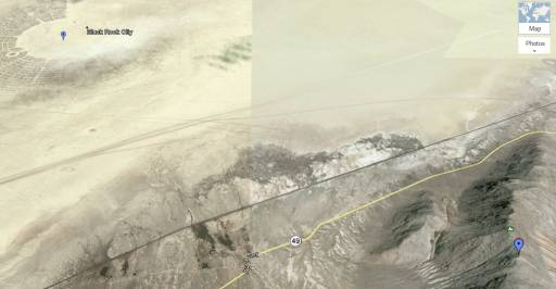 Time Lapse Shows Burning Man Playa From Afar - Makes You Wanna Go Closer