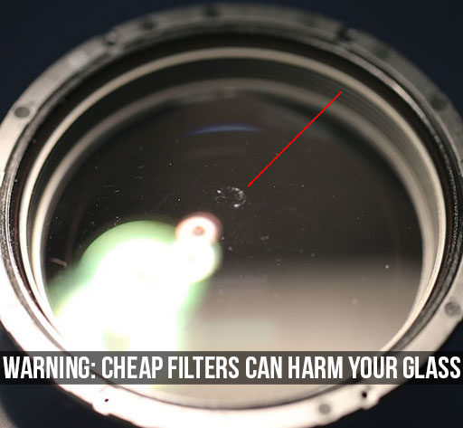 Warning: Cheap Filters Can Harm Your Glass
