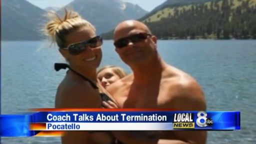 Facebook Photo Shows Mischievous Moment - Wife Fired, Husband Being Told Off