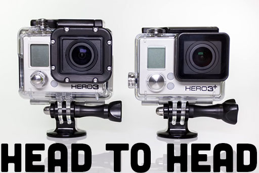 GoPro Hero3 And GoPro Hero3+ Compared Head To Head