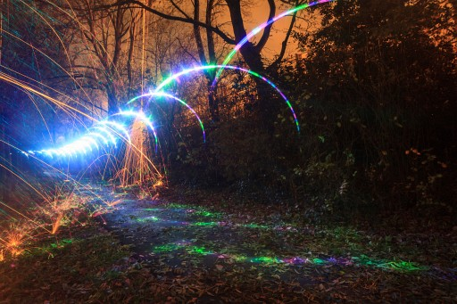 Quick Tip: How To Make Colorful Light Paintings With Lee Filters And A Bubble Blower