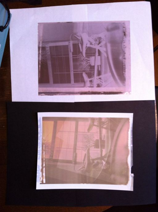 How To Make Instant 4x5 Film At Home
