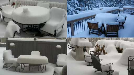 Epic Rant: Stop Photographing Snow Covered Patios! Response Shows Patios Are Still Loved