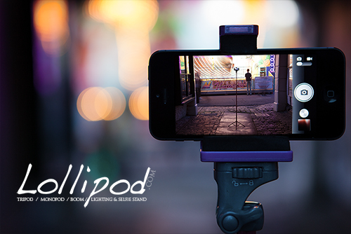 The Lollipod Is The Cutest Light Stand / Tripod Combo Around