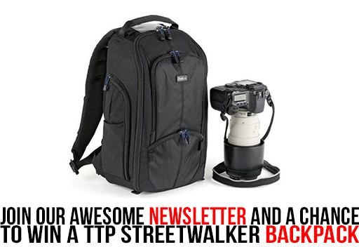 Join Our Awesome Bi-Monthly Awesomely Awesomeness Newsletter And A Chance To Win A TTP Streetwalker Backpack