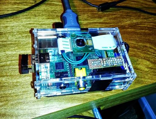 Point & Shoot Camera Built With Raspberry Pi