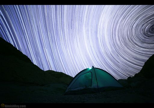 Photo Breakdown - Amazing Star Trails Night Exposure