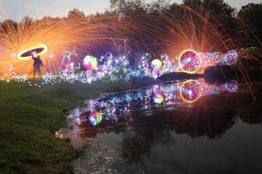 These Incredible Light Paintings From Tackyshack Have Nothing To Do With Photoshop