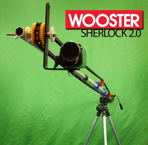 The Wooster Sherlock Is A Clever Single Bar DIY Jib