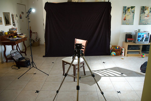 Portrait Lighting Cheat Sheet Card Setup