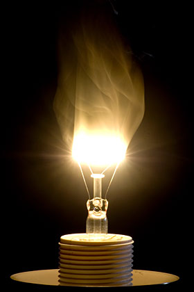 photography project - burning bulb 08