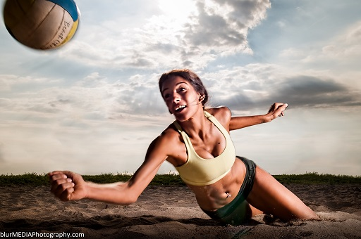 Beach Volleyball JP Danko blurMEDIA Toronto Commercial Photographer