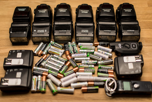 AA Batteries for Photography Accessories JP Danko Toronto Commercial Photographer