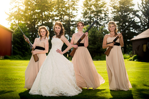 Girls with Shotguns JP Danko Toronto Commercial Photographer
