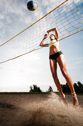 beach volleyball uniform sports athletic photographer JP Danko blurMEDIA Toronto