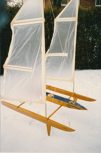 RC Model Sailboat