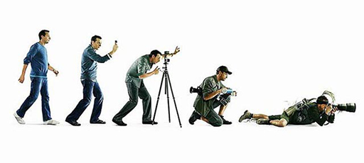 photographer evolution
