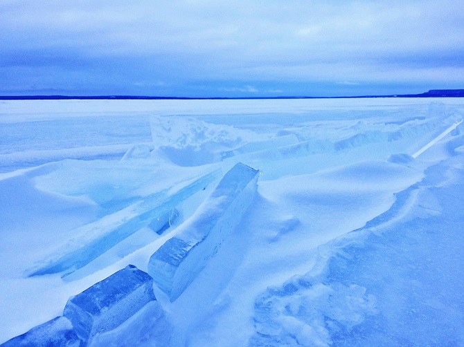 Lake Ice Android Smartphone Photography Apps JP Danko Toronto Commercial Photographer