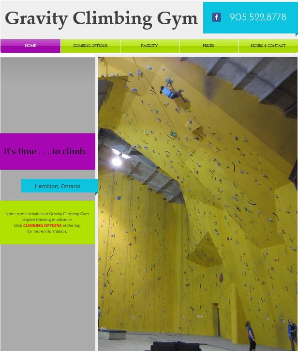 Climbing Gym Ambient Light Only