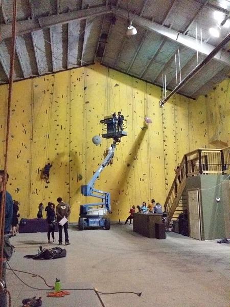 Gravity Indoor Rock Climbing Gym Photography
