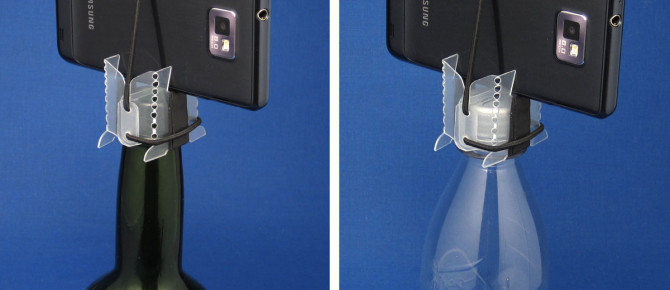The Cleverest DIYP iPhone Tripod* Ever!