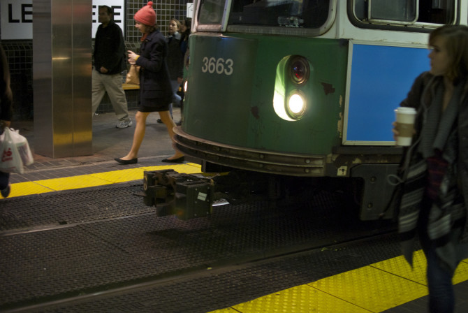 Inside the Boston Subway