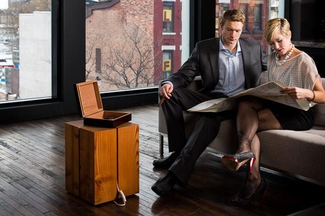 Retro Mad Men Business Man Business Woman In Office JP Danko Toronto Commercial Photographer blurMEDIA photography