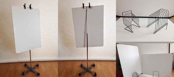 More Clever Ways To Mount Foam Board Reflectors and Flags