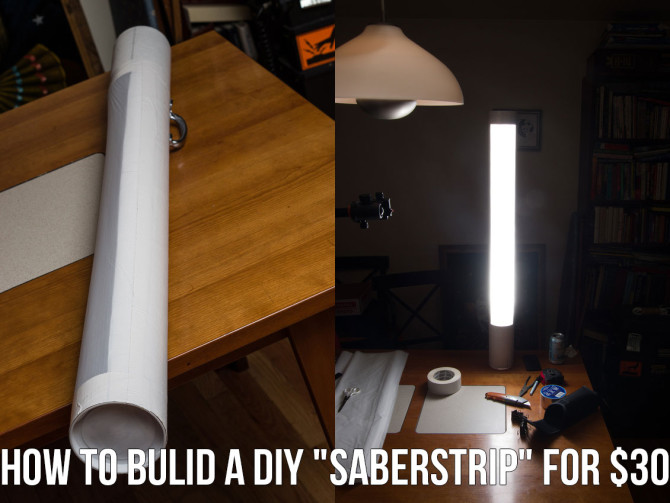 """How To Bulid A DIY """"SaberStrip"""" For $30"""