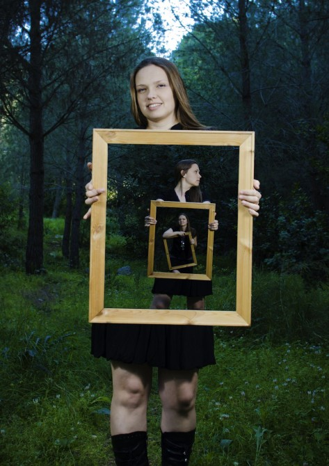 How to Create Magical Framed Portraits