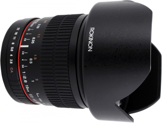 10mm f/2.8 ED AS NCS CS