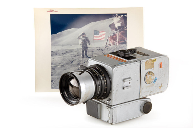 The Hassy Used On Moon Landing Was Just Sold For $758,489
