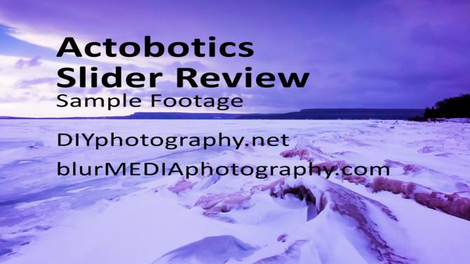 Actobotics slider review diy slider cell phone time lapse video gopro video slider