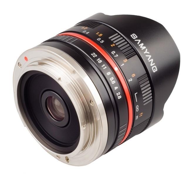 Samyang 8mm Lens without filter