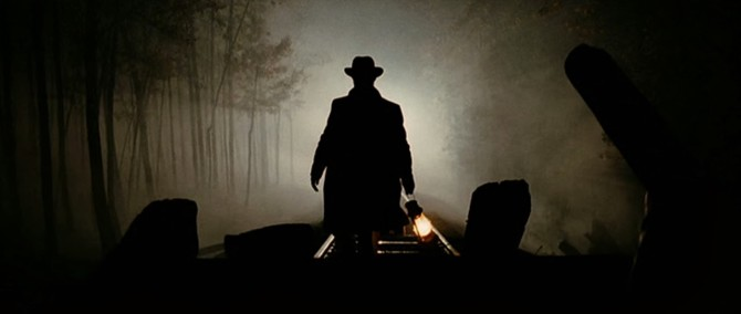 The Assassinaion of Jesse James train robbery