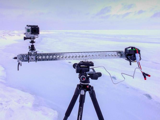 Actobotics Slider Review DIY Slider for cell phone time lapse video and gopro video slider