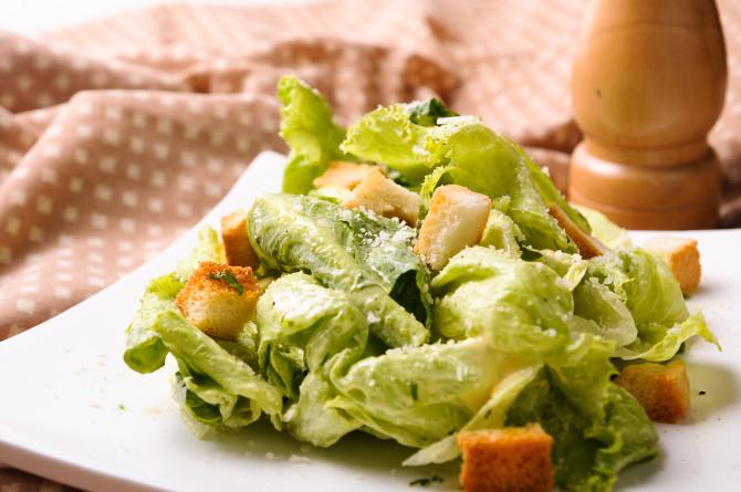 Cloth Background Salad
