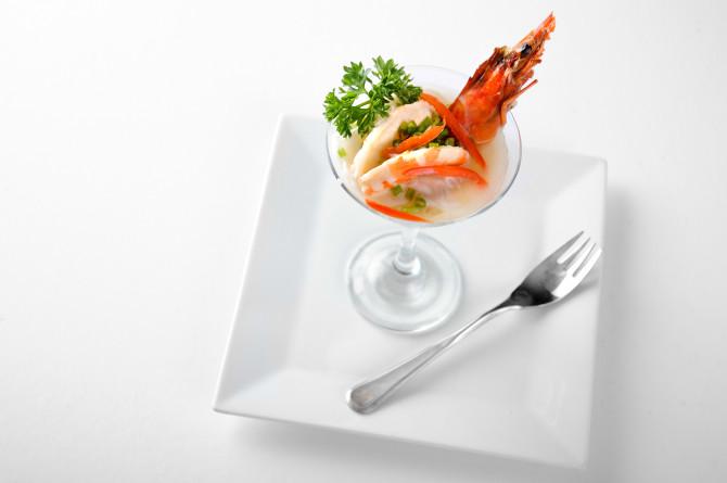 On White Shrimp