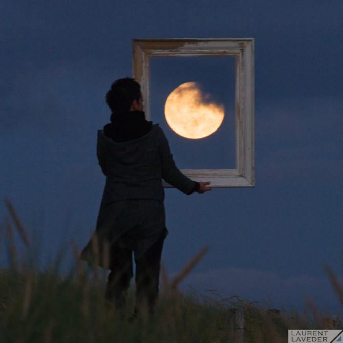 La Pleine Lune encadrée